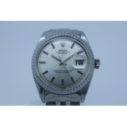 Rolex Datejust 1600 35mm Vintage Silver Dial Yr: 1965