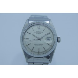 Rolex Datejust 1601 36mm Vintage Silver Dial Yr: 1963