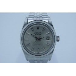 Rolex Datejust 1601 36mm Vintage Silver Dial Box & Papers Yr: 1967