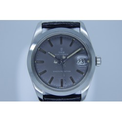 Tudor Oysterdate 7992/0 34mm Vintage Grey Dial/Manual Yr: 1968