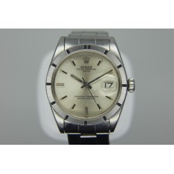 Rolex Oyster Perpetual Date 34mm Vintage Silver Dial Yr: 1967