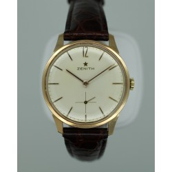 Zenith Vintage 992469 35mm White Dial/Gold/Manual Yr: 1964