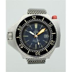 Omega Seamaster PloProf 166.077 55mm Blue Dial/Cal. 1001/Auto 1969