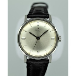 Zenith 2300 34mm Vintage Silver Dial/Manual Winding Yr: 1964