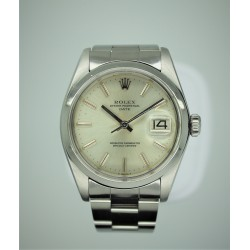 Rolex Oyster Perpetual Date 1501 34mm Vintage Silver Dial Yr: 1979
