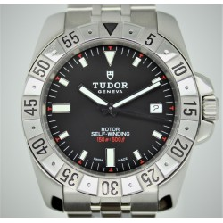 Tudor Hydronaut II 20020 41mm Black Dial w/ Papers