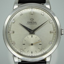 Omega Ref. 14.161 - 37.5mm Large Platinum Chronometer Year: 1948 (Price on Request)