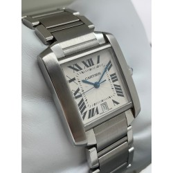 Cartier Tank Francaise 2302 Box&Papers
