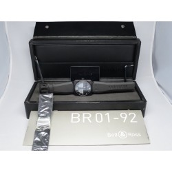 Bell & Ross BR01- 92-SHO AVIATION TYPE 46MM WITH BOX AND PAPERS