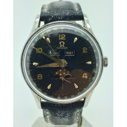 Rolex Vintage Date 1501 Engine Turned Jubilee Patina Dial 34mm