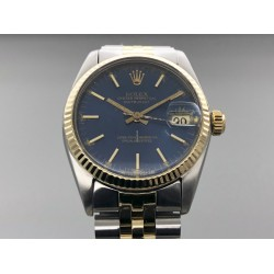 Rolex Datejust 6827 31mm Blue Dial/Box&Papers Yr: 1978