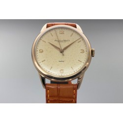 IWC Vintage 18kt Rose Gold/Manual Winding Yr: 1957