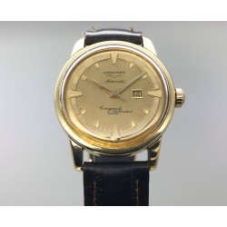 Longines Conquest Vintage Gold Dial /18kt Yr: 1959